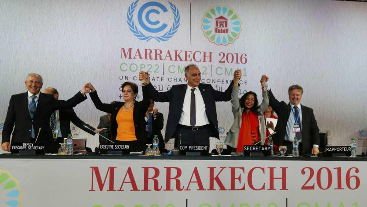La Cumbre del clima de Marrakech pide «el más alto compromiso político» contra el cambio climático