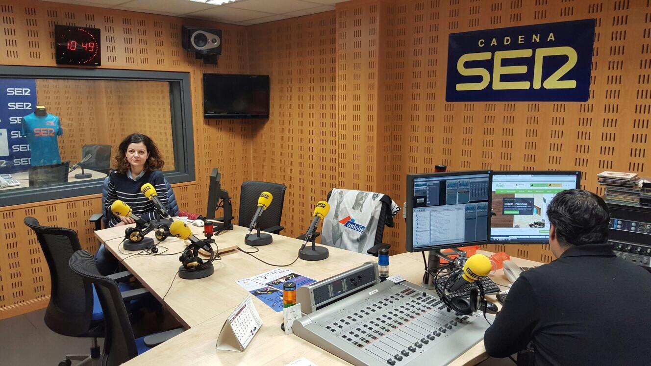Entrevista a Henar Arranz en Cadena Ser