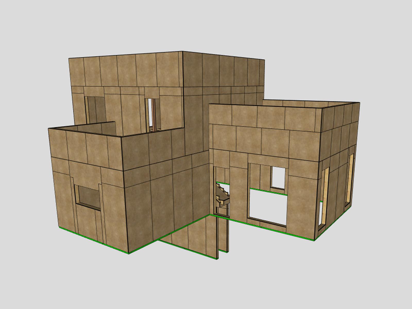 Construir una casa pasiva en dos días