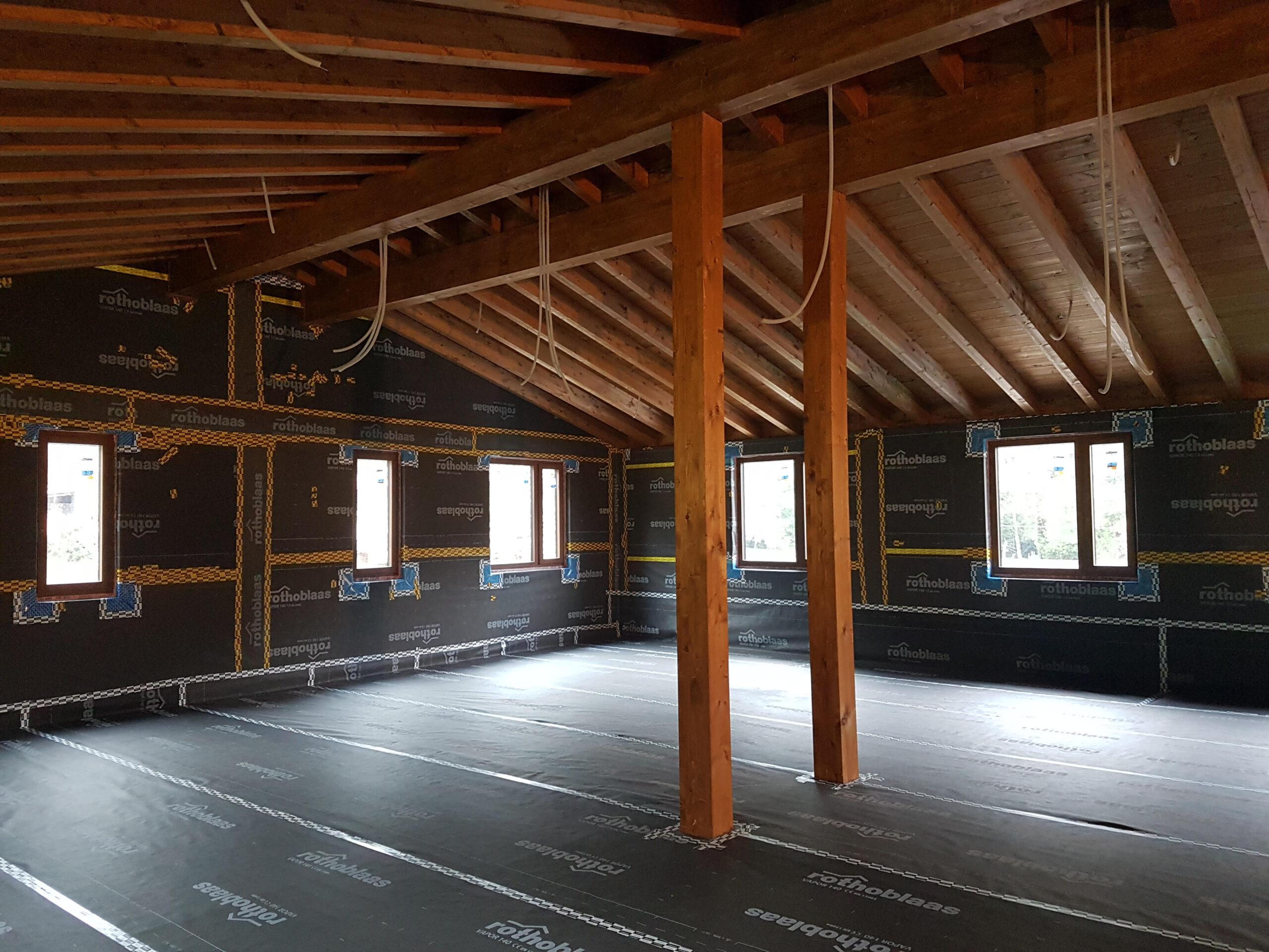 Como obtener más superficie útil en un inmueble Passivhaus