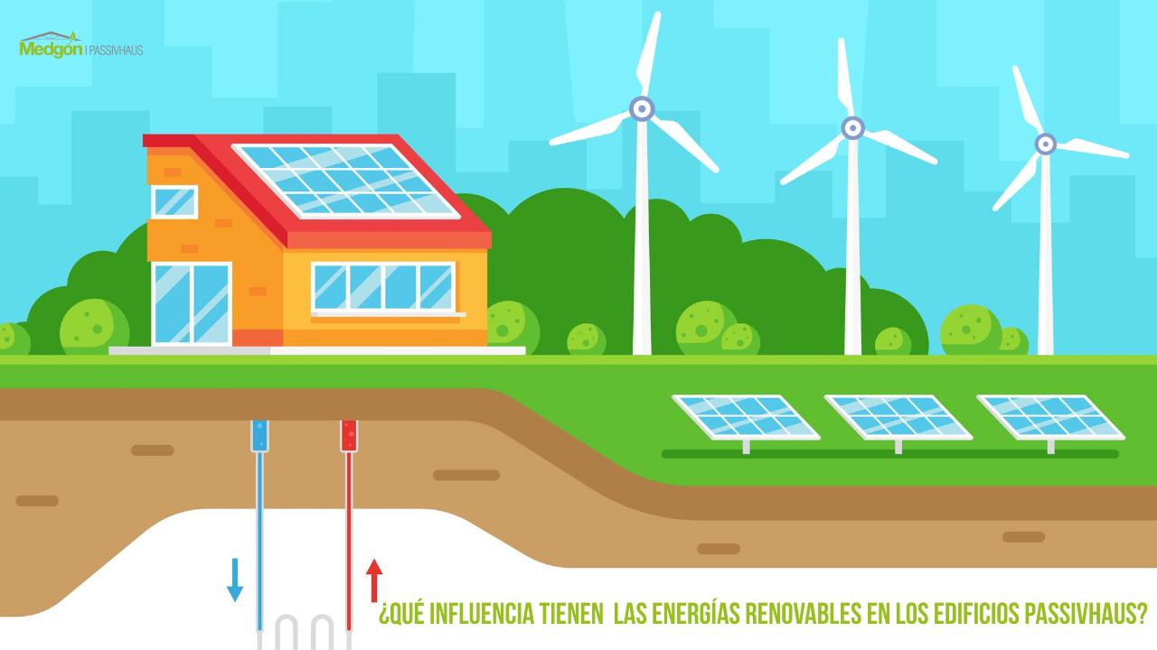 ¿Qué influencia tienen las energías renovables en los edificios passivhaus?